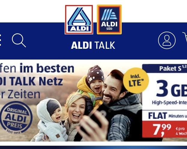 aldi talk アカウント